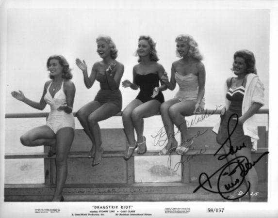 los bikinis de la época